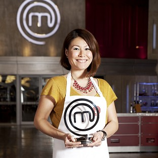 MasterChef 2014 champion Ping Coombes shows off her trophy