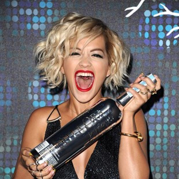 This Is Lancashire: Rita Ora at a party during the 67th international film festival, Cannes. (AP)
