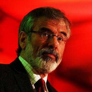 The arrest of Sinn Fein leader Gerry Adams has not affected the party's standing in the polls, it is claime