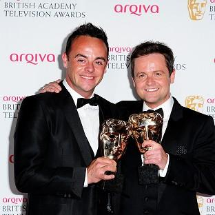 This Is Lancashire: Anthony McPartlin and Declan Donnelly with the Entertainment Programme Award for Saturday Night Takeaway
