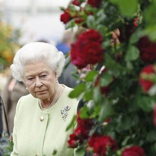 The Queen on a previous visit to the Chelsea Flower Show.