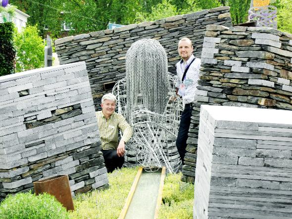 This Is Lancashire: Newground director Mark Riley and Chorley artist John Everiss