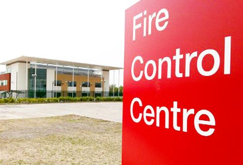 The controversial new fire control centre in Warrington