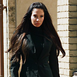 Tulisa Contostavlos has denied an assault charge linked to a celebrity blogger