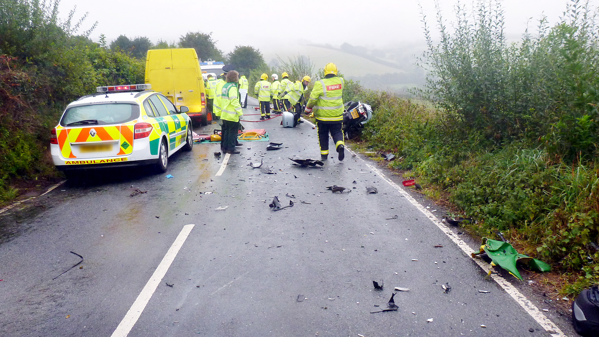 Tragic motorbike death crash was 'unavoidable'