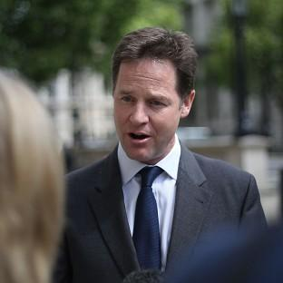 Nick Clegg is being urged by members of his own party to step down as leader of the Lib Dems