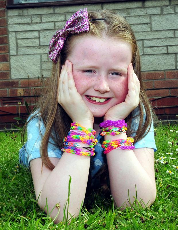 This Is Lancashire: Bethany, eight, raises money in memory of tragic friend