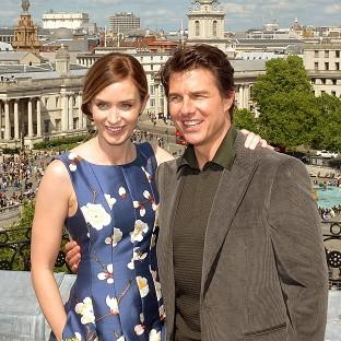 This Is Lancashire: Emily Blunt and Tom Cruise star in Edge Of Tomorrow.