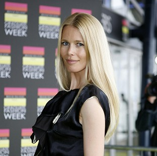 A fire broke out at Claudia Schiffer's home