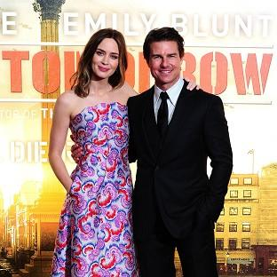Emily Blunt and Tom Cruise flew around the world for a triple premiere of Edge Of Tomorrow