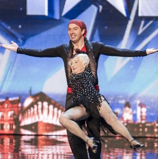 This Is Lancashire: Paddy has been given the all-clear to perform in Britain's Got Talent with her partner Nico