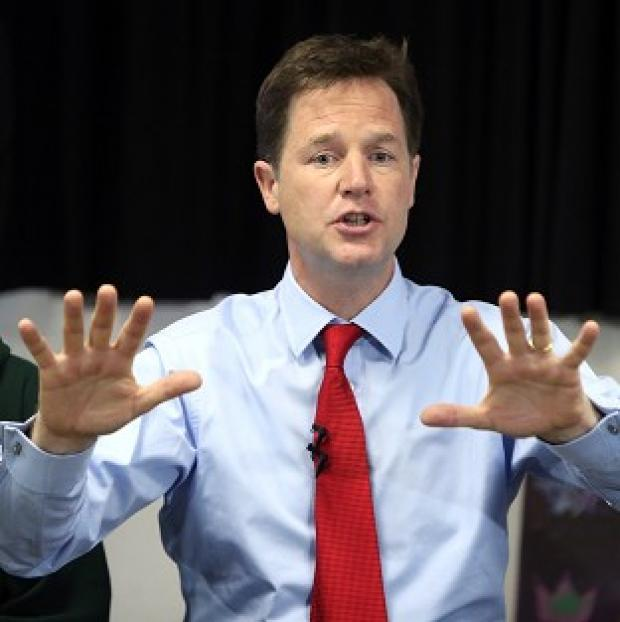 This Is Lancashire: Just 13% of people thought Nick Clegg was doing a good job, according to research