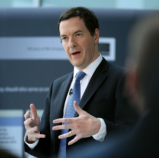 George Osborne said progress had been made on reducing immigration