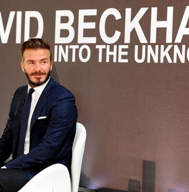 This Is Lancashire: David Beckham met the remote Yanomami tribe on a trip to the Amazon Rainforest
