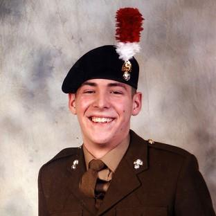 Fusilier Lee Rigby was hacked to d
