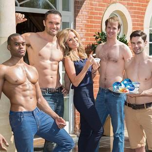 This Is Lancashire: Amanda Holden is fronting a new campaign for Oykos
