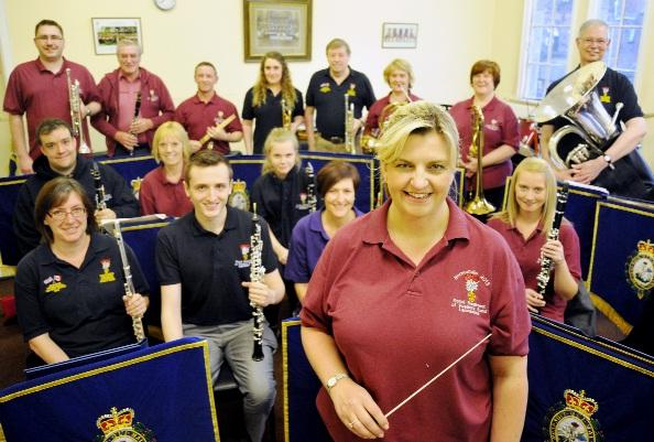 This Is Lancashire: Musical director, Cathie Brooks with other band members