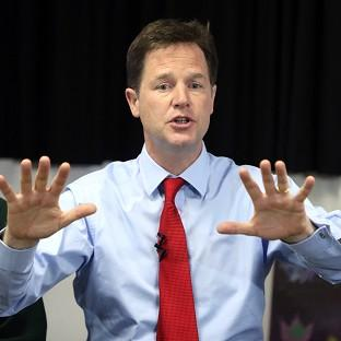 Nick Clegg has sounded a rallying call to the Liberal Democrats after recent poll reverses