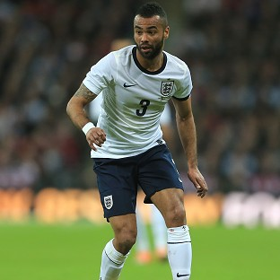 Ashley Cole was left out of England's World Cup squad