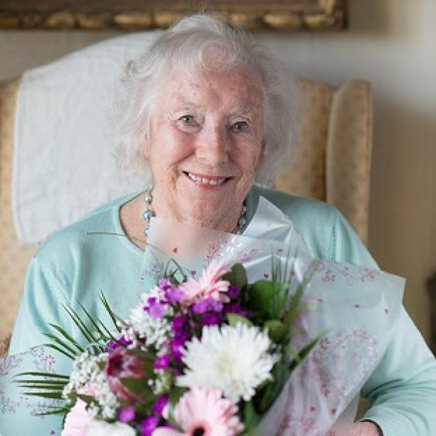 This Is Lancashire: Dame Vera Lynn has made the top 20 at the age of 97