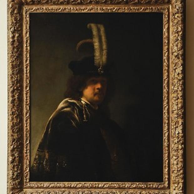 This Is Lancashire: A self-portrait of Rembrandt discovered at Buckland Abbey, Devon