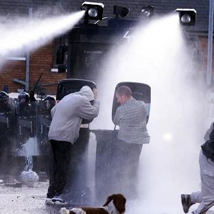 Water cannon h