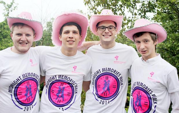 Student urges more men to join Midnight Memories walk