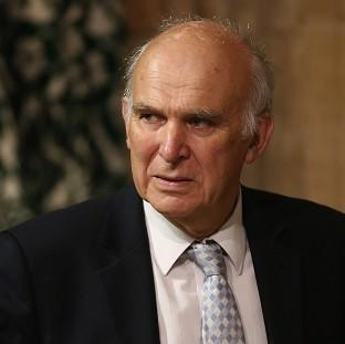 This Is Lancashire: Business Secretary Vince Cable was forced to deny he was part of a plot to oust Nick Clegg
