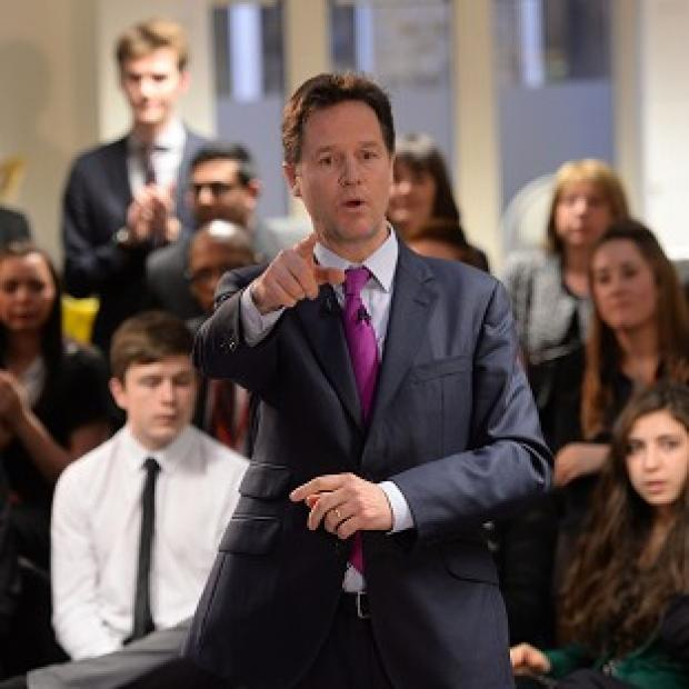 This Is Lancashire: Nick Clegg says all schools should have qualified teachers and follow a core curriculum