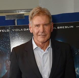Harrison Ford is being treated for an ankle injury
