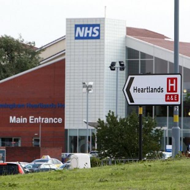 This Is Lancashire: Birmingham Heartlands Hospital is at the centre of a salmonella outbreak