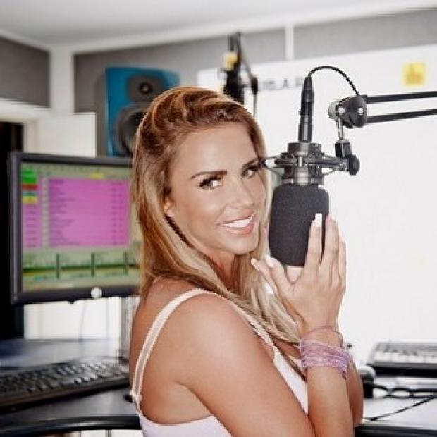 This Is Lancashire: Katie Price will co-host her own weekly radio show