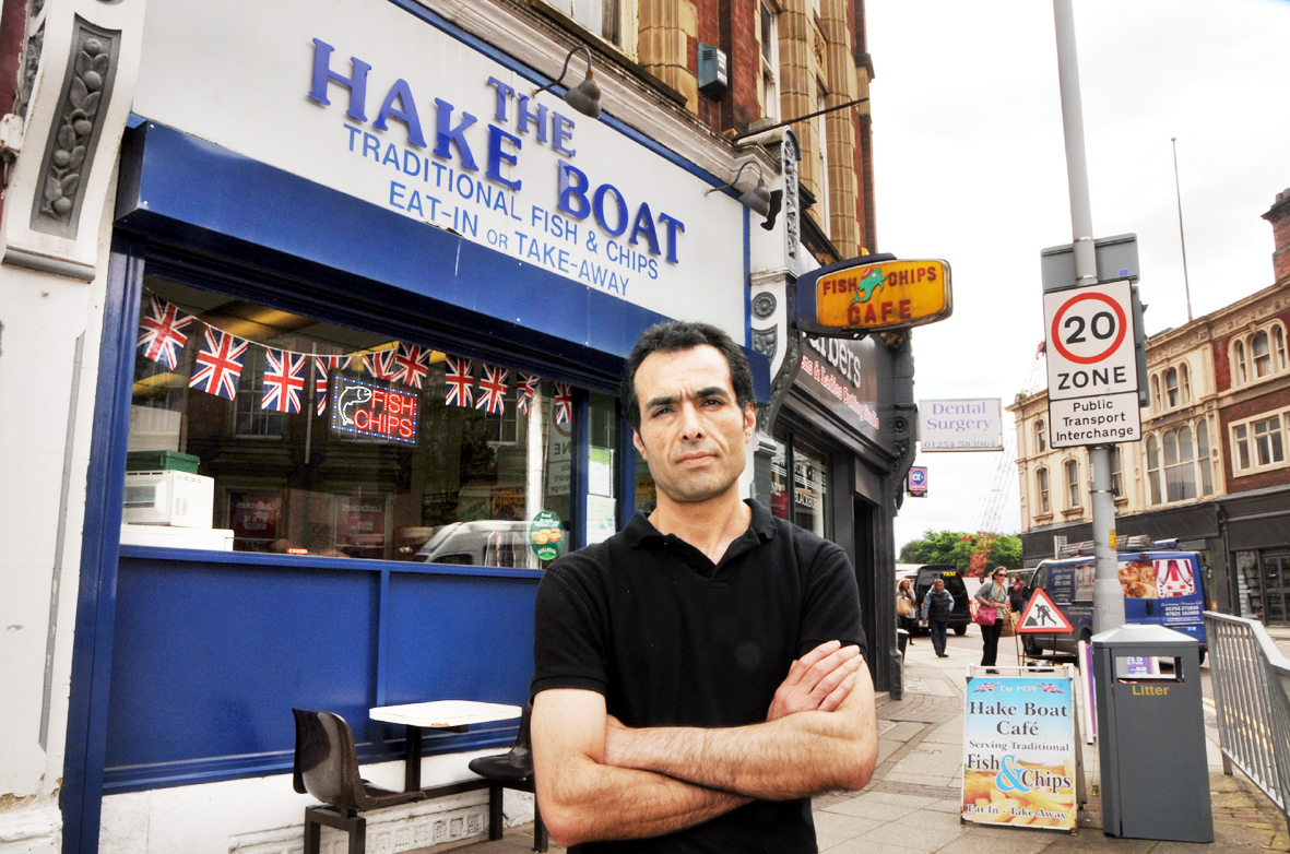 Ship's sailed for Blackburn's Hake Boat