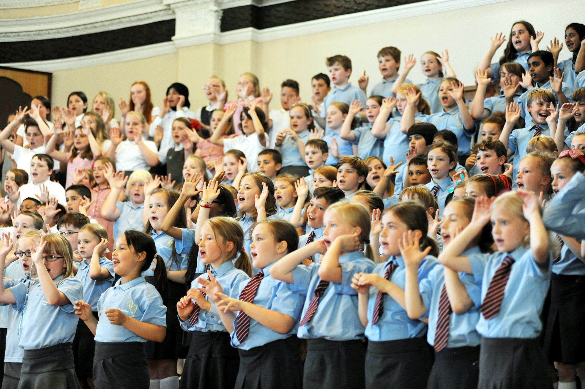 Opening night: 46th Bolton Schools' Music Festival