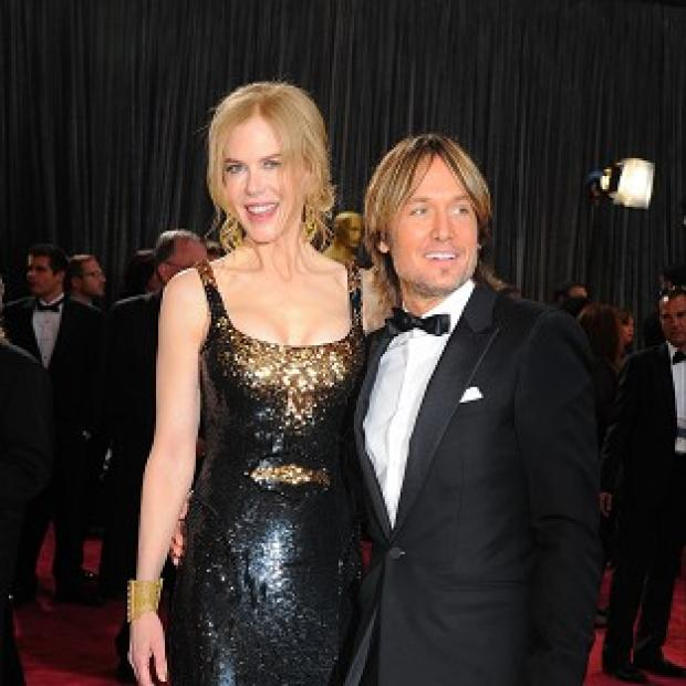 This Is Lancashire: Nicole Kidman and Keith Urban took part in a singalong at an Aussie hospital