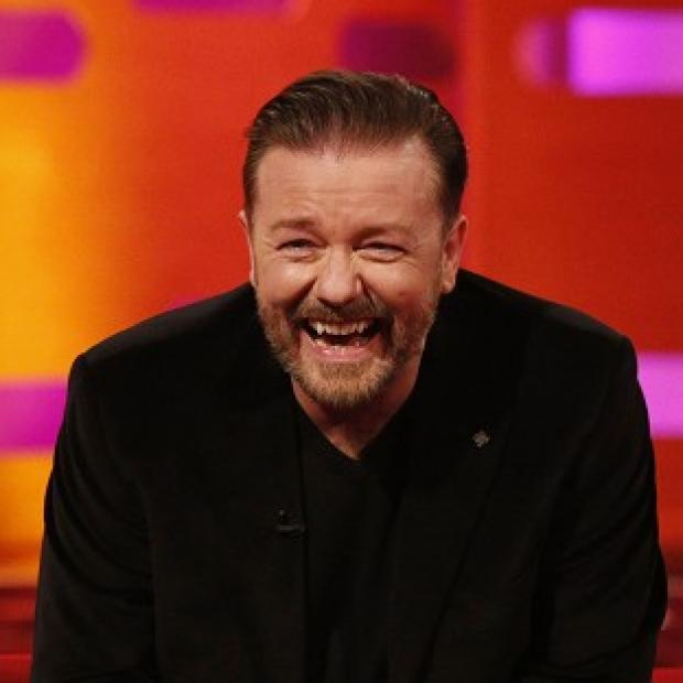 This Is Lancashire: Ricky Gervais enjoyed a chat with 'God' on Twitter