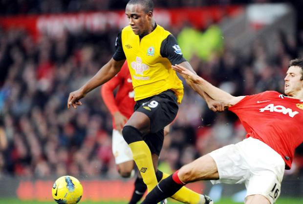 Jordan Slew has made just two substitute appearances for Rovers including one at Old Trafford in the 2011-12 season