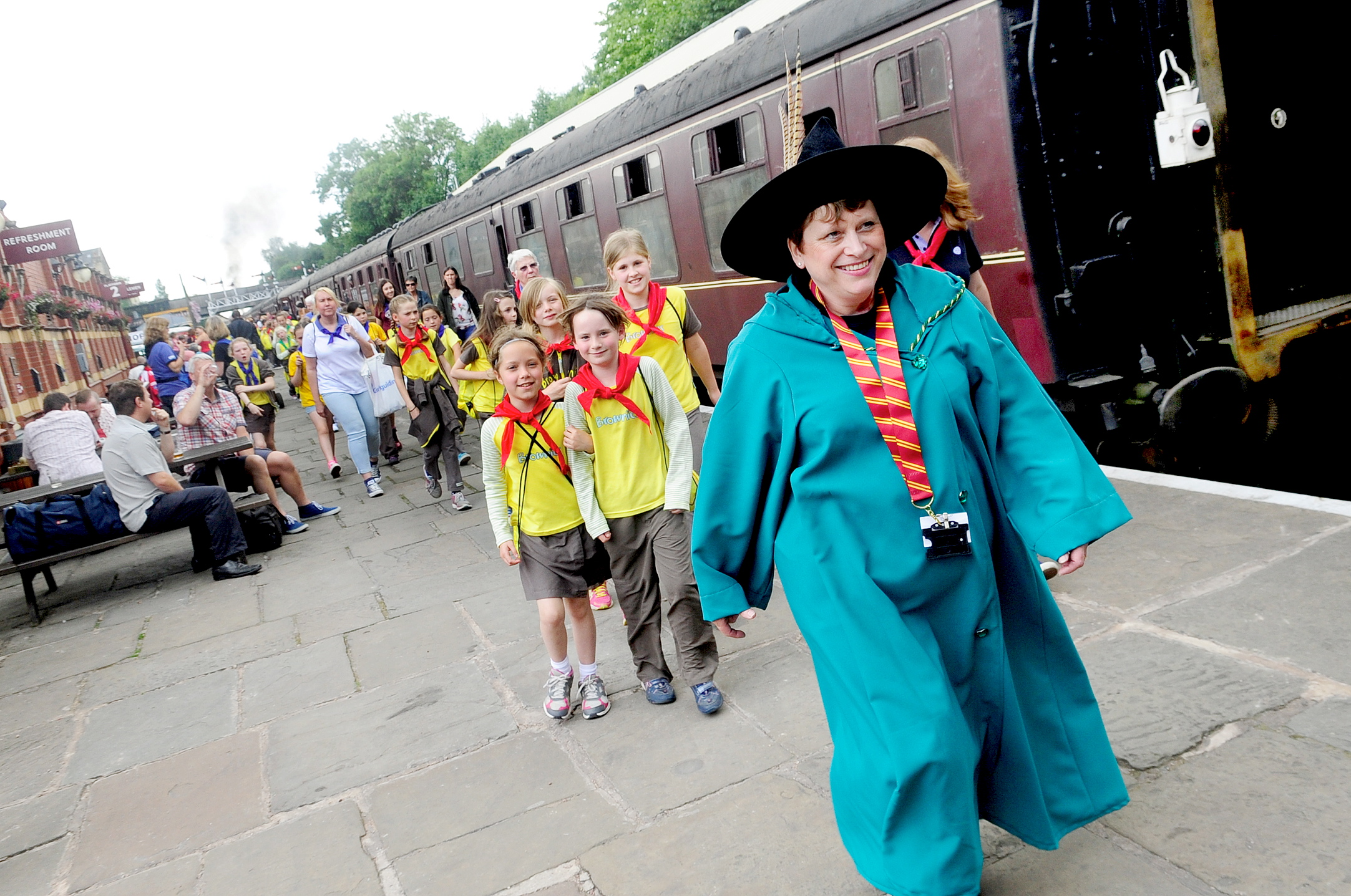 East Lancashire Railway turned into Hogwarts for the day