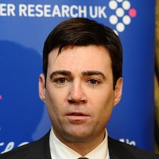 Andy Burnham said there was