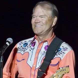 Glen Campbell during his Goodbye Tour in Little Rock, Arkansas in 2012