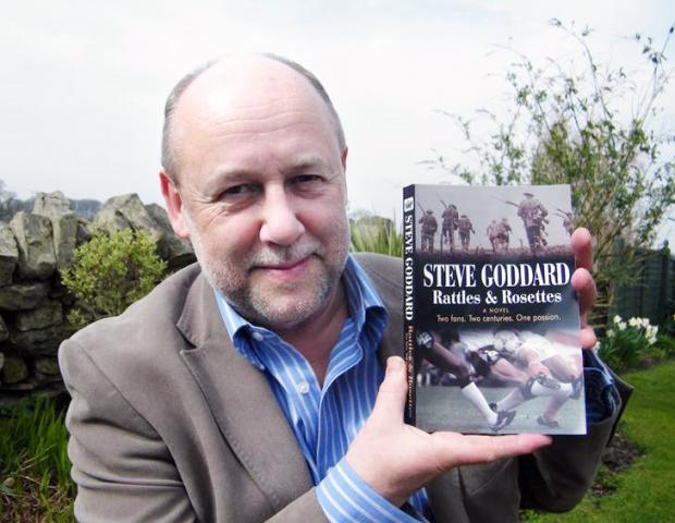 This Is Lancashire: Steve Goddard with his novel