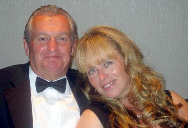 The late Andrew Duckworth with his wife Joanna