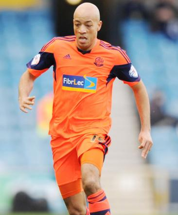 BLACKBURN LINK Wanderers defender Alex Baptiste could be on the move