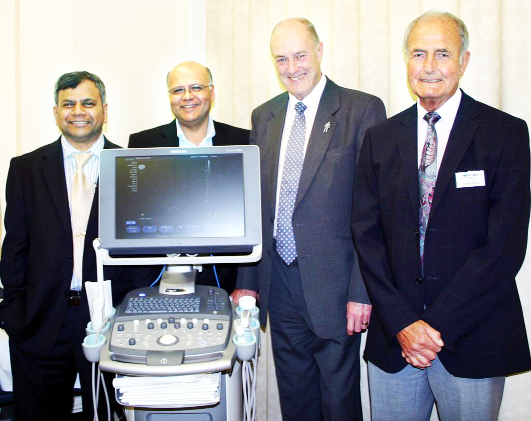 Burnley MP celebrates scanner launch