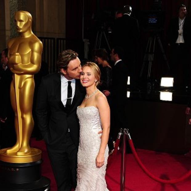 This Is Lancashire: Dax Shepard and Kristen Bell are expecting their second child together