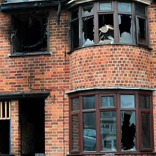 A mother and her three children died in the blaze