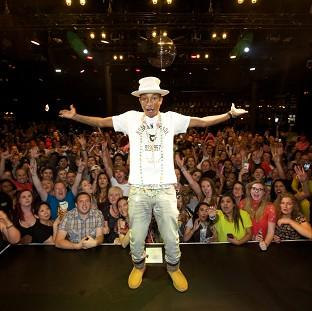 This Is Lancashire: Pharrell Williams wowed fans at his intimate MasterCard Priceless gig