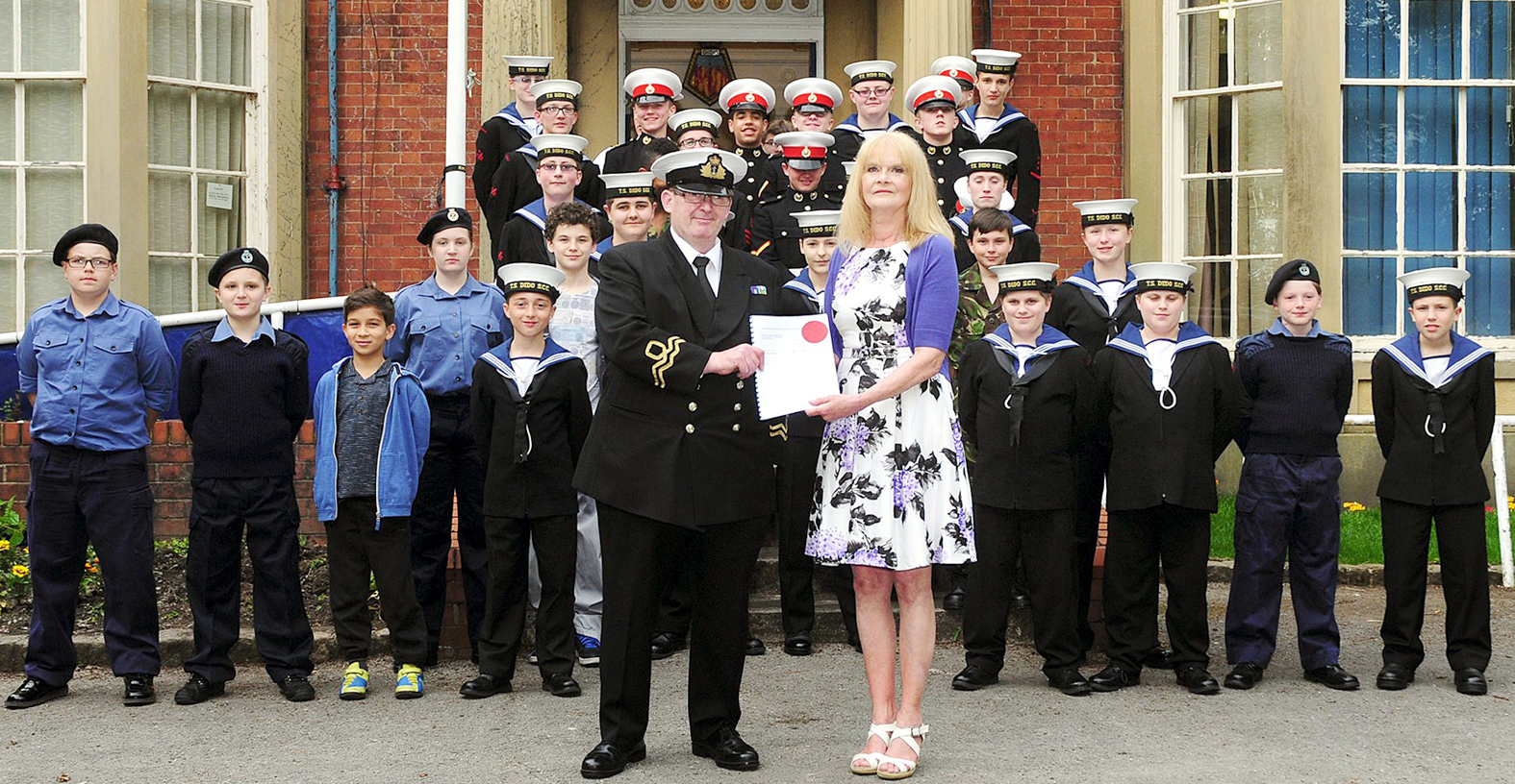 Bolton Sea Cadets celebrate new lease on under-threat home