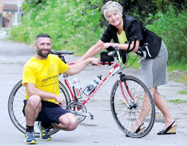 This Is Lancashire: Traveller gears up for Ironman triathlon