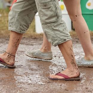 This Is Lancashire: There has been rain at Glastonbury but June will still be one of the warmest on record, the Met Office said